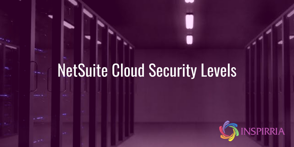 NetSuite Cloud Security Levels