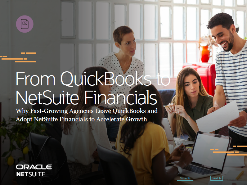From QuickBooks to NetSuite Financials