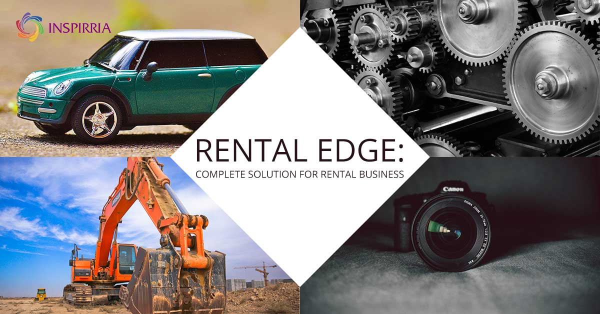 RentalEdge: The complete Rental Management solution from Inspirria.