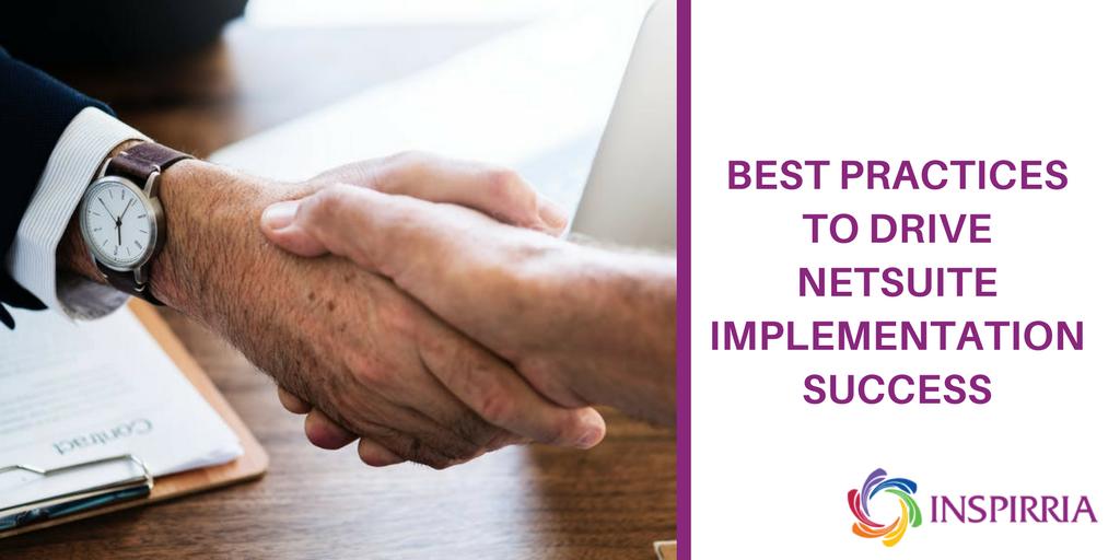 NetSuite Best Practices