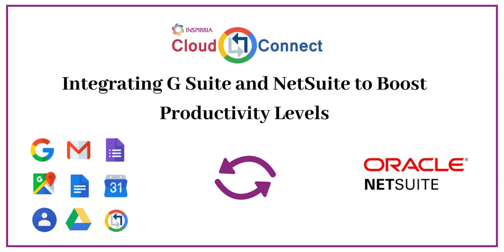 NetSuite G Suite Connector