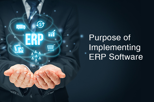 Purpose of Implementing ERP Software