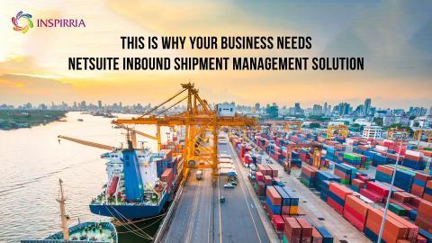 NetSuite Inbound Shipment Management, NetSuite Service Management, NetSuite ERP
