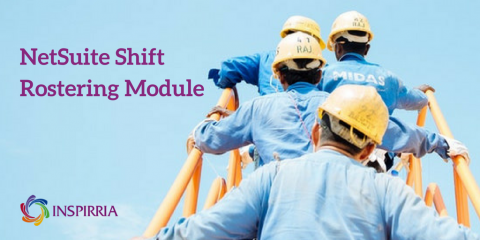 NetSuite Shift Rostering Module - Inspirria Cloudtech