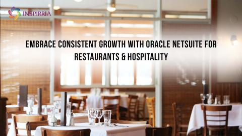NetSuite ERP for Restaurants and Hospitality