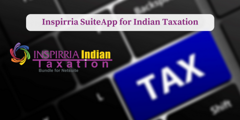NetSuite SuiteApp Inspirria Indian Taxation