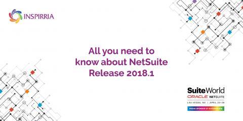 NetSuite Release 2018.1 - Inspirria Cloudtech