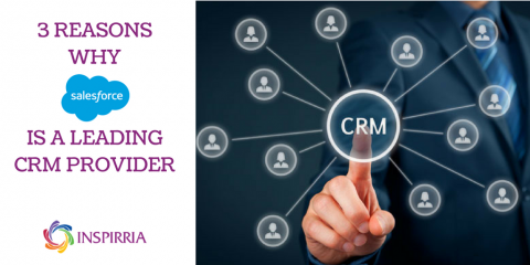 Salesforce is a leading CRM - Inspirria Blog