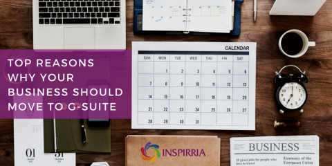 G Suite for Business - Inspirria Cloudtech
